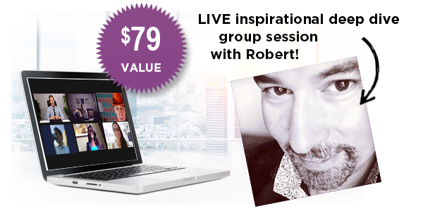 Live online sessions with Robert Clancy